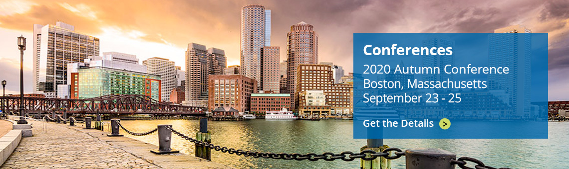 IMGL's Autumn Conference takes place in Boston Sept 23 - 15