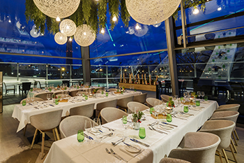 Gala dinner at Bavarie at BMW World