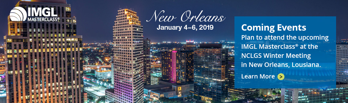 IMGL Masterclasses: January 4–6 in New Orleans, Louisiana