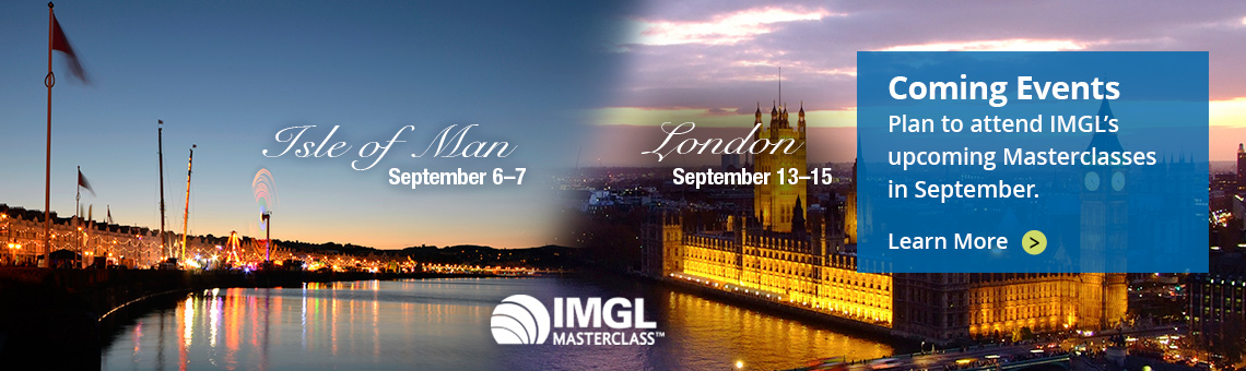 Attend IMGL's upcoming Masterclasses in September